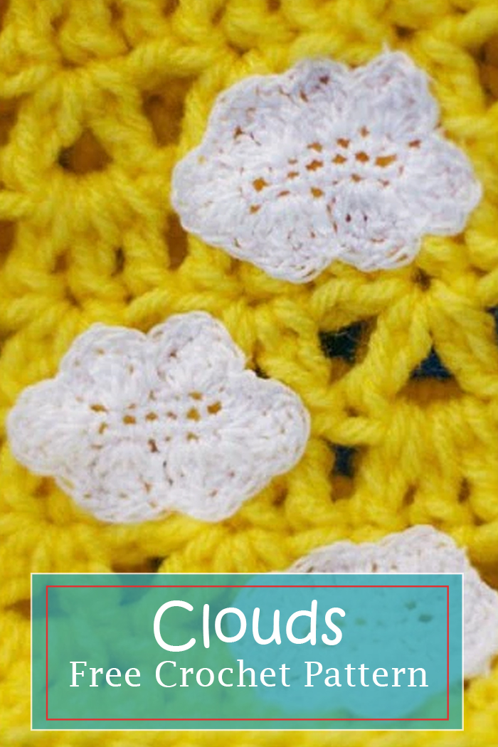 clouds free crochet pattern