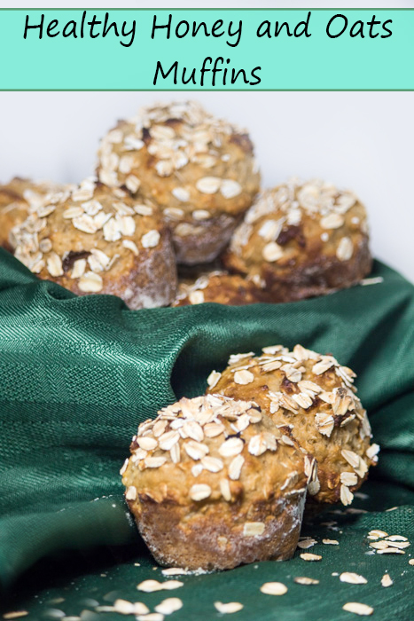 Healthy Honey and Oats Muffin Recipe