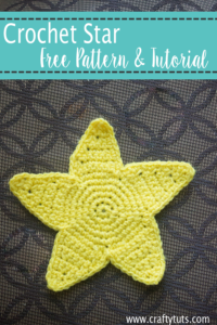 Crochet Star Free Pattern and video tutorial