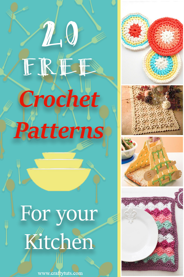 Free crochet pattens for the kitchen