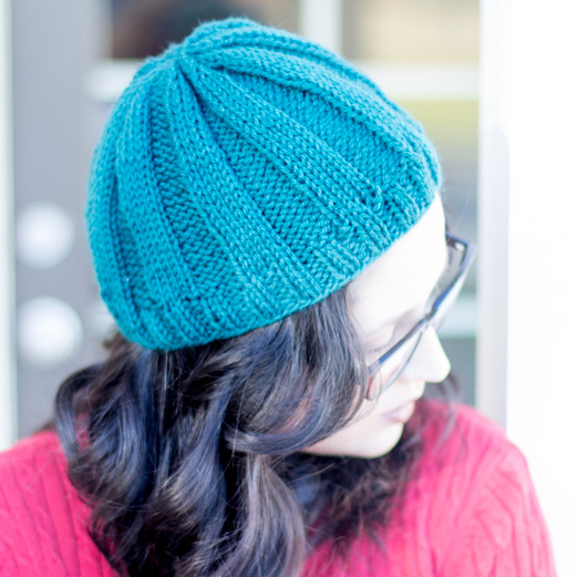 Hipster Knitting Patterns : Hipster Hat (Fitted or Slouchy) - Crafty Tutorials