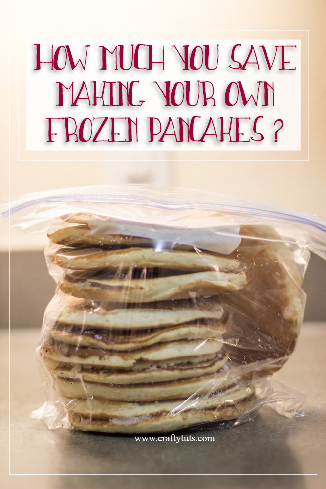 How Much You Save Making Your Own Frozen Pancakes