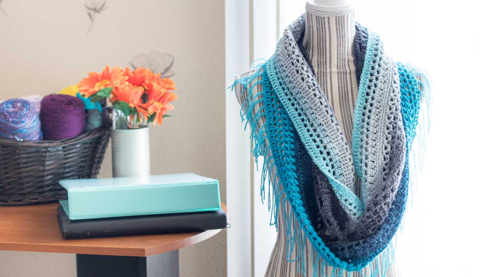 Crochet Mandala Cowl Free Crochet Pattern Crafty Tutorials