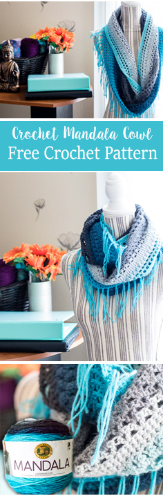 10 Free Crochet Patterns For the Mandala Yarn by Lion Brand Yarns. Find gorgeous and free patterns designed for the Mandala Yarn. mandala yarn crochet patterns