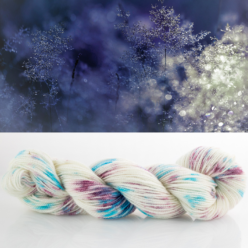 Snow Queen Hand Painted Yarn